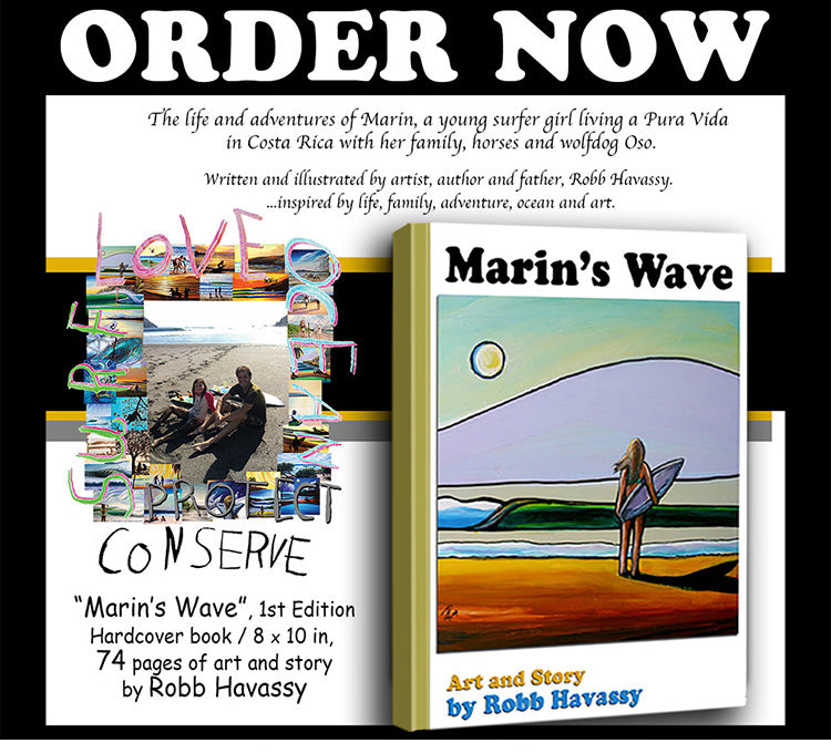 """Marin's Wave"" Collector's 1st edition"