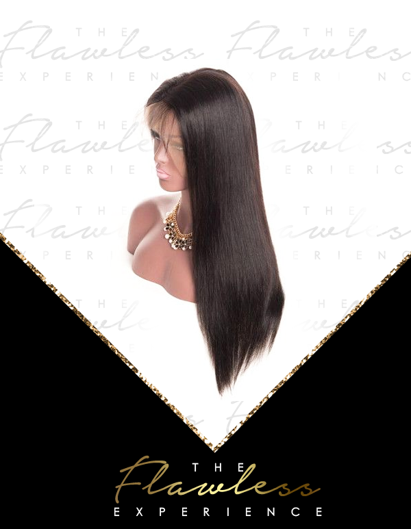 Flawless Straight Full Lace Wigs