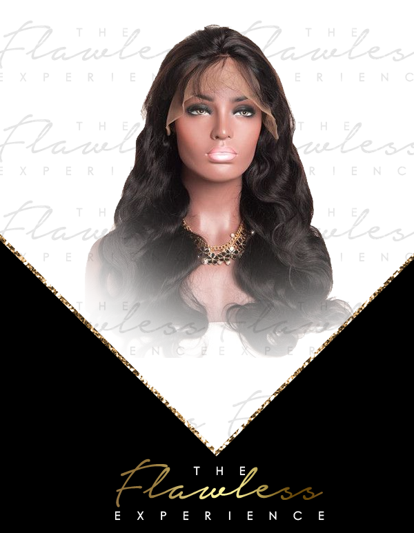 Flawless Body Wave Full Lace Wigs