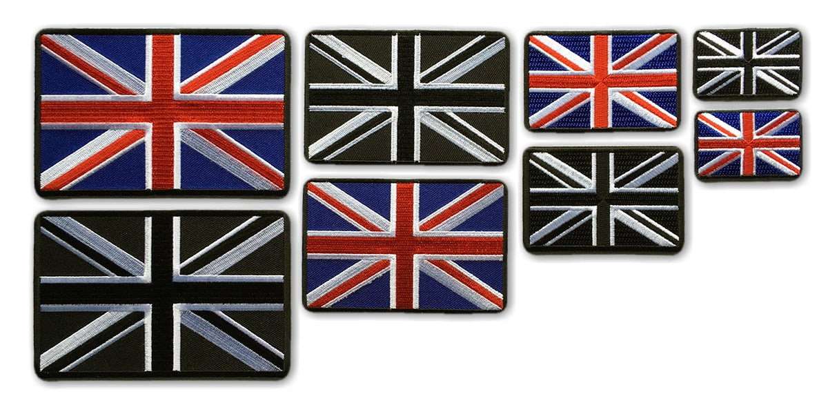 United Kingdom Flag Patches