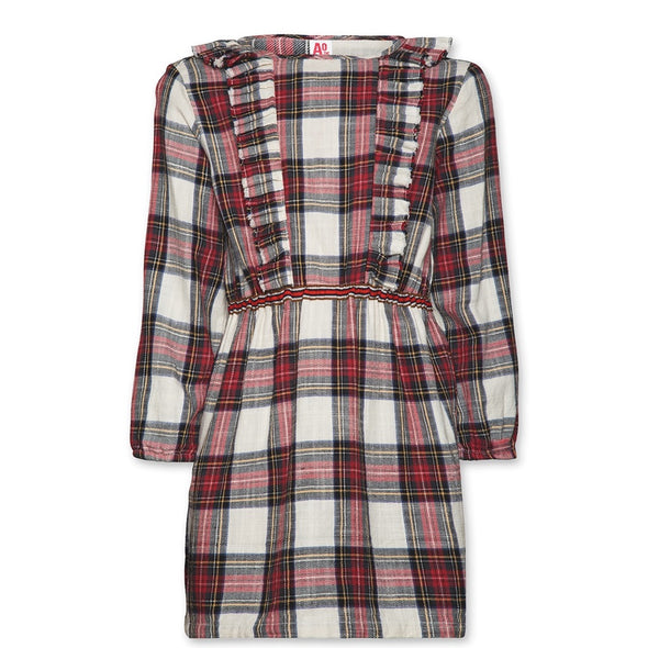 Minot Checkered Dress