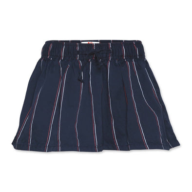 Amy Striped Skirt In Navy