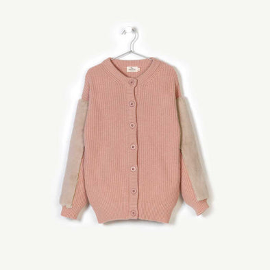 Cashmere & Wool Knitted Cardigan