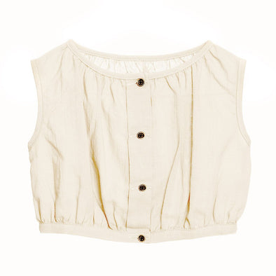 Little Creative Factory Baby Ballet Top In Ivory