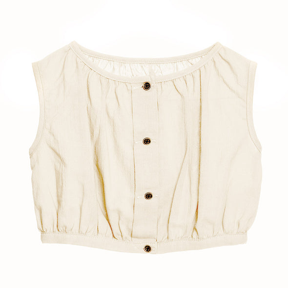 Little Creative Factory Ballet Top In Ivory