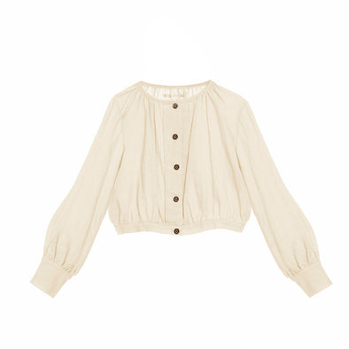 Little Creative Factory Ballet Blouse In Ivory
