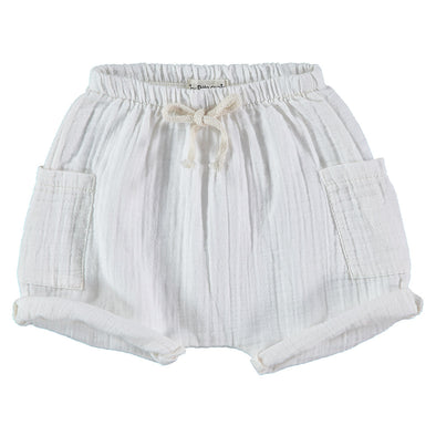 My Little Cozmo Bermuda Shorts In Ivory