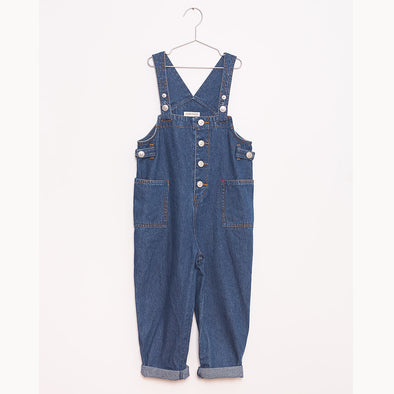 Fish & Kids Denim Dungarees