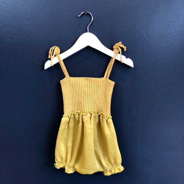 Cana Romper In Yellow