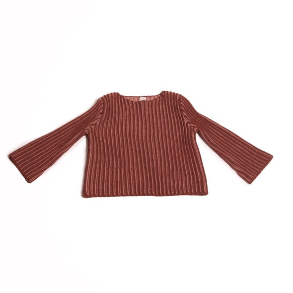 Ribbed Duo Tone Pullover