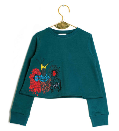 Lili Green Sweater
