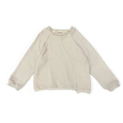 Lonin Knitted Sweater Cloud White