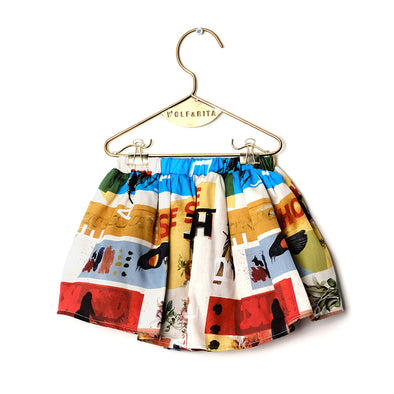 Leonor Multi Coloured Skort