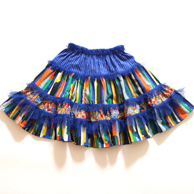 Patchwork Puebla Skirt