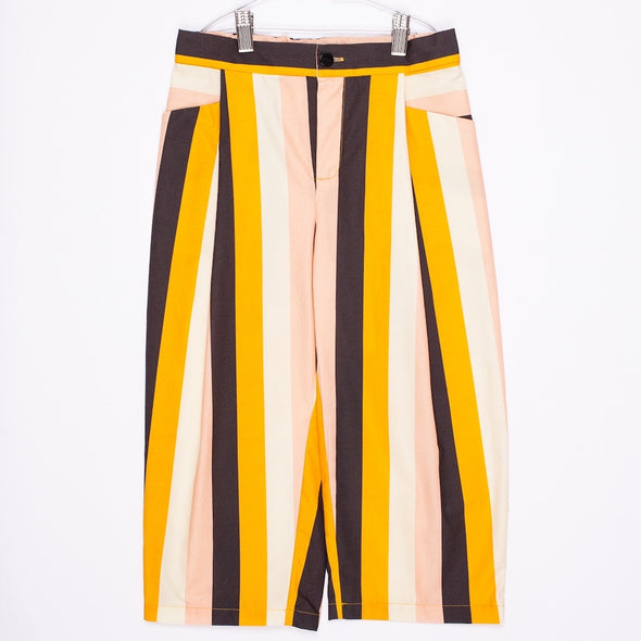 Relaxed Stripe Trousers