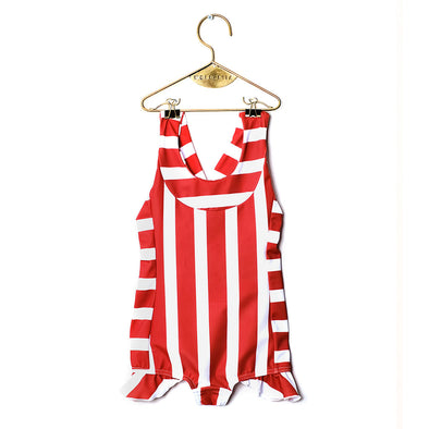 Sara Stripe Swimsuit