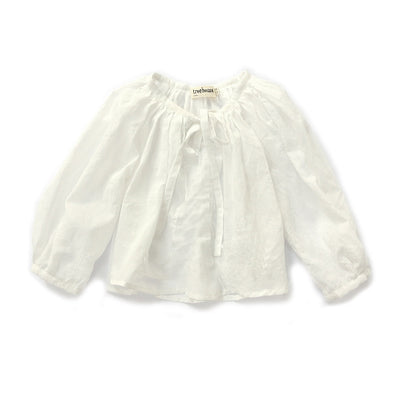 Treehouse White Blouse
