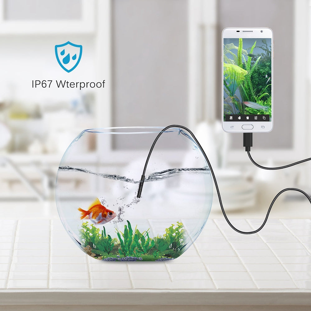 Waterproof USB Smartphone Endoscope