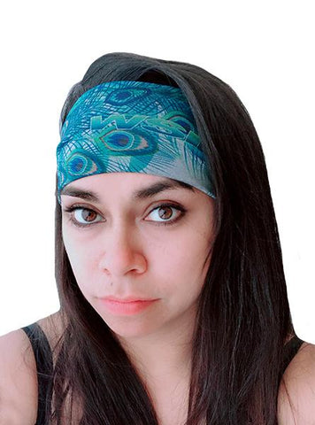 Women's Peacock Headband