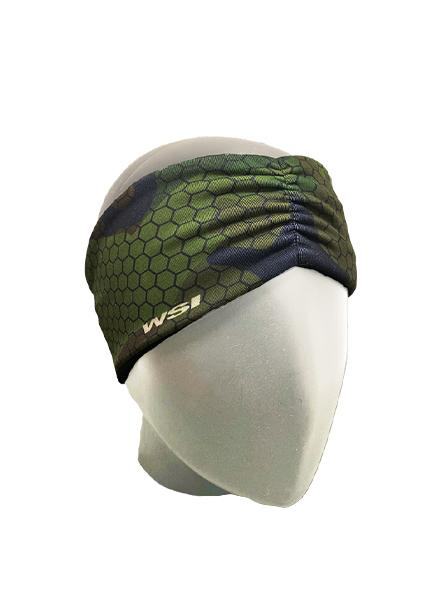 Hexa Camo HEATR® Headband Cold Weather Gear WSI Sports