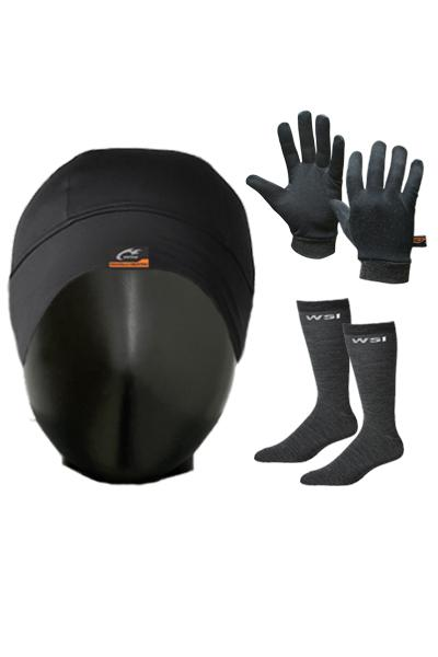 3 Pack of HEATR® Accessories Men's Performance Gear WSI Sports
