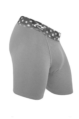 Grey HYPRTECH™ BAMBOO Brief with USA Waistband Men's Performance Gear WSI Sports