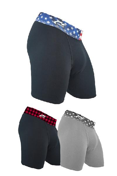 3-Pack Bundle HYPRTECH™ BAMBOO Briefs Men's Performance Gear WSI Sports