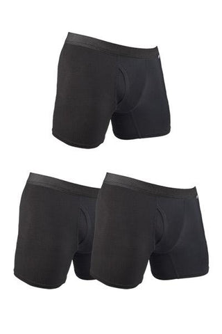 3-Pack Bundle HYPRTECH™ BAMBOO Briefs With Fly Men's Performance Gear WSI Sports