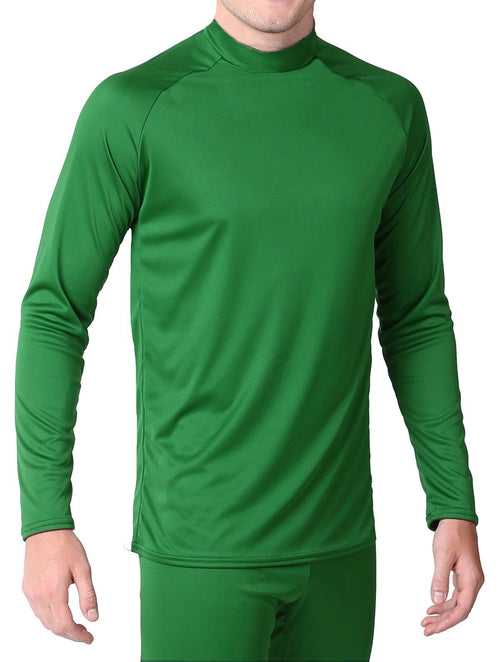 Youth - Microtech™ Form Fitted Long Sleeve Shirt Men's Performance Gear WSI Sports YM KELLY GREEN