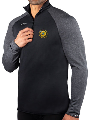ProWikMax 2-Tone 1/4 Zip Long Sleeve Shirt MSA