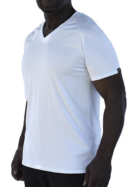 Microtech Short Sleeve V-Neck Raglan Shirt