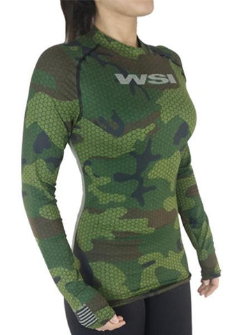 WSI HYPRTECH™ BAMBOO Hexacamo Long Sleeve Shirt