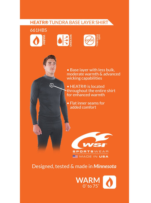 HEATR® - Tundra Long Sleeve Base Layer Long Sleeve Shirts WSI Sports