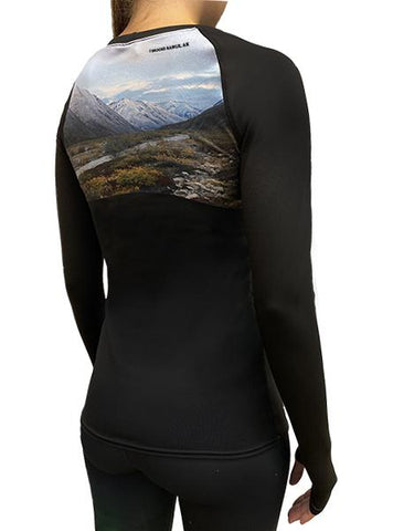 ProWikMax® Alaskan Mountain Long Sleeve Shirt Women's Performance Gear WSI Sports