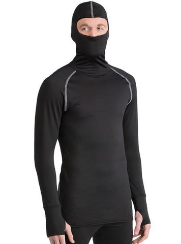 WSI HEATR® Built-In Hooded Shirt