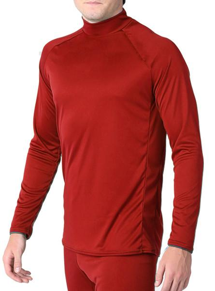 Arctic Microtech™ Form Fitted Long Sleeve Shirt Men's Performance Gear WSI Sports YM RED