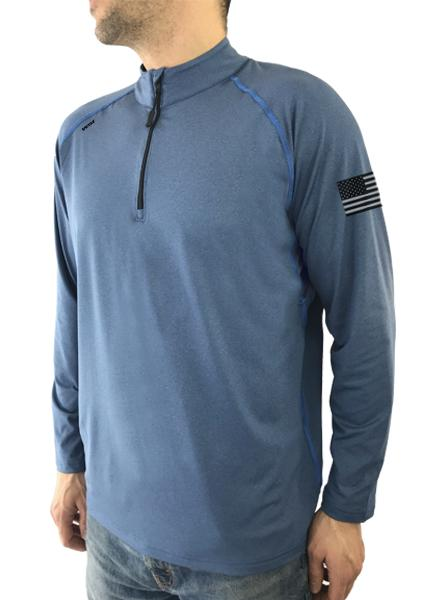 Freedom 1/4 Zip Longsleeve Shirt with Underarm Mesh Panel