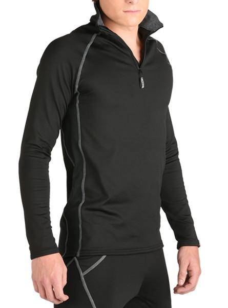 Arctic HEATR® Vent Q-Zip Men's Performance Gear WSI Sports - Made in USA lightweight cold weather warming shirt