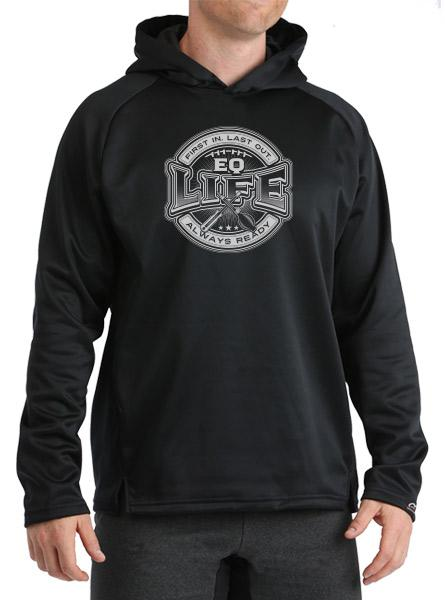 EQ Life Performance Fleece Hoodie Long Sleeve Shirts WSI Sports