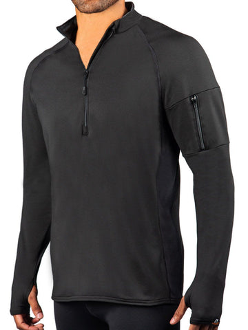 HEATR® Vent 1/2 Zip Long Sleeve Shirt HEATR® WSI Sportswear