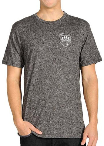 Wounded Veterans Heather Grey Short Sleeve Shirt