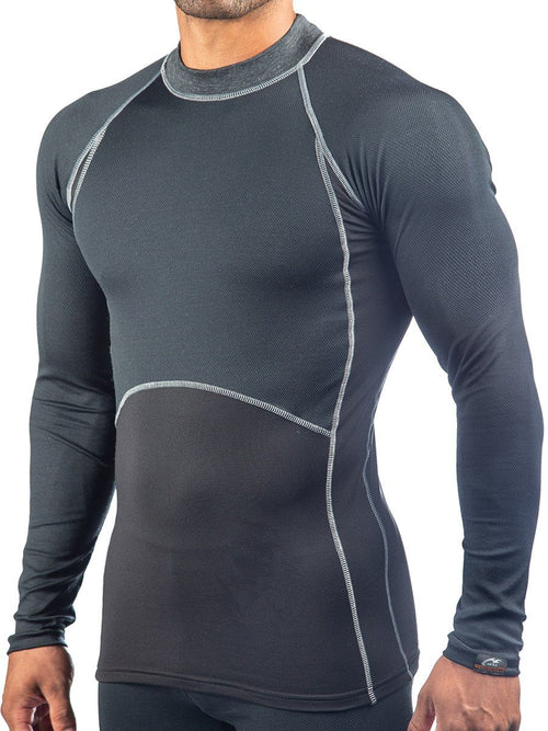HEATR® Body-Mapped Base Layer Men's Performance Gear WSI Sports