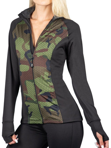 Warrior Full Zip HEATR® Jacket HEATR® WSI Sportswear