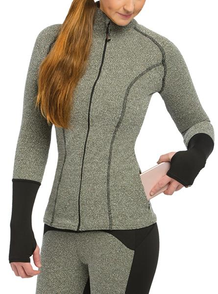 Women's Full HEATR® 1/2 Zip Shirt