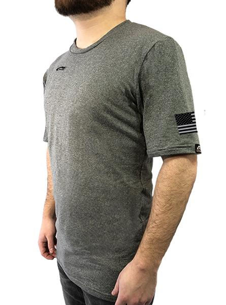 Freedom Short Sleeve Tee with Underarm Mesh Panel