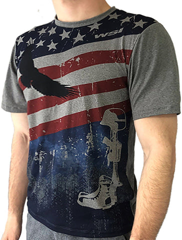 Men's Freedom Tee Men's Performance Gear WSI Sports