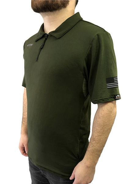 Freedom 1/4 Zip Polo with Underarm Mesh Panel