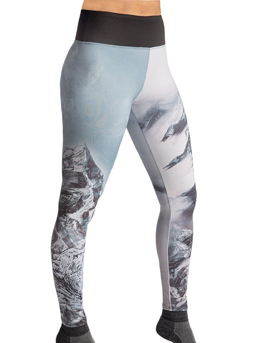 Carly Jo Mountain Bobcat Leggings Women's Performance Gear WSI Sports - Made in USA