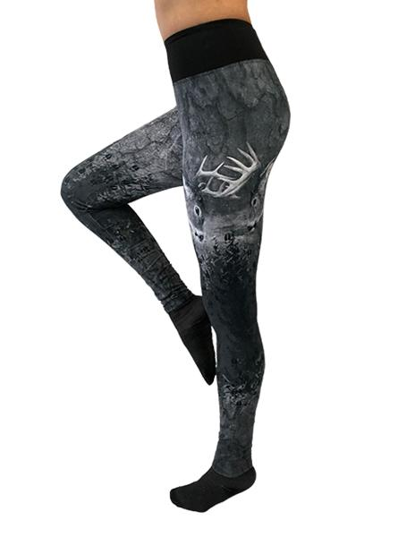 WSI's ProWikMax® Fighting White Tail Leggings Performance Pants WSI Sports