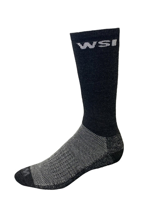 Arctic HEATR® Socks Men's Performance Gear WSI Sports M Charcoal - Cold Weather Made in USA Warming Socks